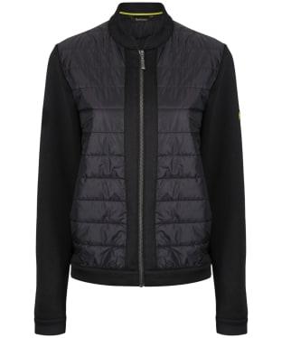 Women's Barbour International Brake Sweater Jacket - Black