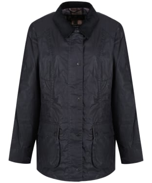 Women's Barbour Lightweight Beadnell Wax Jacket - Royal Navy