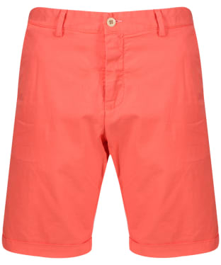 Men's GANT Regular Sunbleached Shorts - Strong Coral