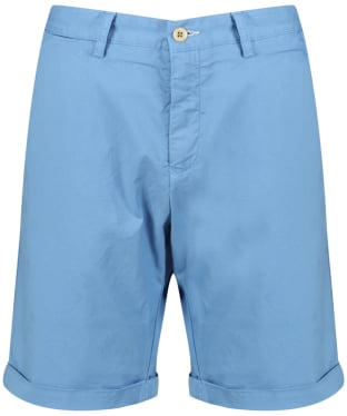 Men's GANT Regular Sunbleached Shorts - Lava Blue