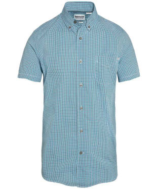 Men's Timberland Suncook River Small Gingham Shirt - Enamel Blue