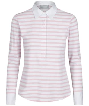Women's Schöffel Salcombe Shirt - Harbour Stripe Pink