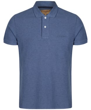 Men's Schoffel Padstow Polo Shirt - Denim
