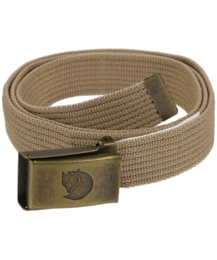 Fjallraven Canvas Brass Belt 3cm - Sand