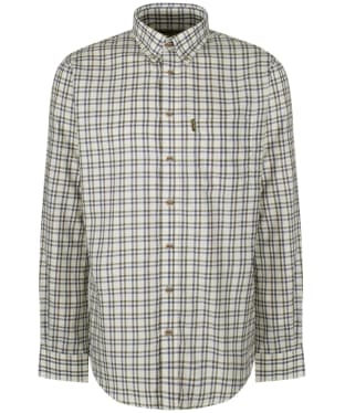 Men's Musto Classic Button Down Check Shirt - Carrick Gold