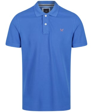 Men's Crew Clothing Classic Pique Polo Shirt - Marine