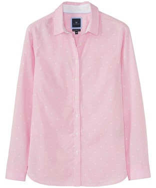 Women's Crew Clothing Penhale Shirt - Pink Spot