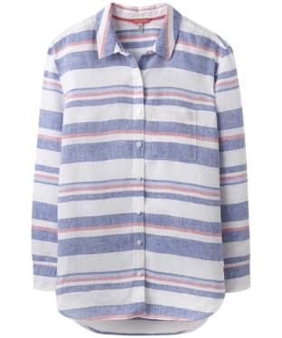 Women's Joules Jeanne Printed Linen Shirt