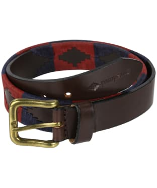pampeano Leather Polo Belt - Marcado