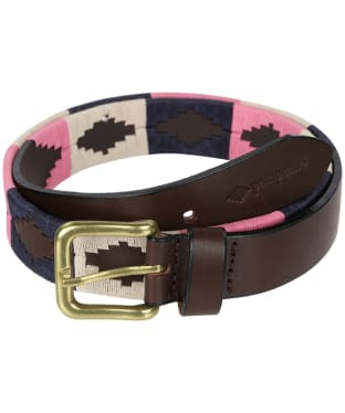 pampeano Leather Polo Belt - Dulce