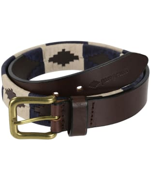 pampeano Leather Polo Belt - Jugadoro