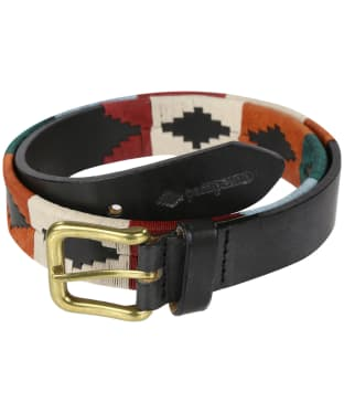 pampeano Leather Polo Belt - Selva