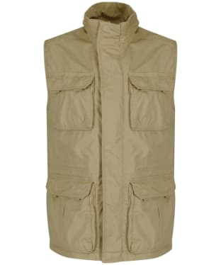 Men's Aigle Hoggar Multi Pocket Gilet - Classic Beige