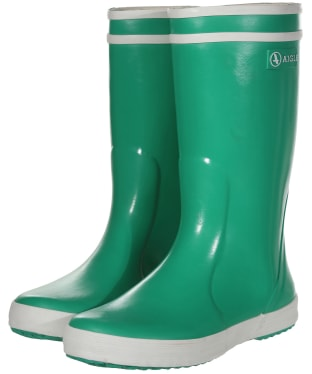 Aigle Children's Lolly-Pop Wellingtons - Garden Green