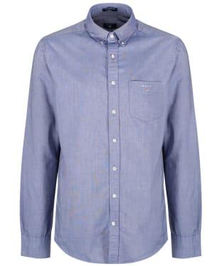 Men's Gant Regular Oxford Shirt - Persian Blue