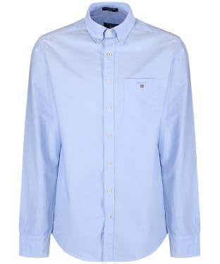 Men's Gant Regular Oxford Shirt - Capri Blue
