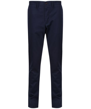 Men's GANT Slim Fit Twill Chinos - Navy