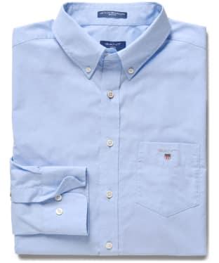 Men's GANT Regular Broadcloth Shirt - Hamptons Blue