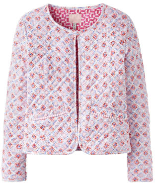 Girl's Joules Bibi Cropped Quilted Jacket, 7-12yrs