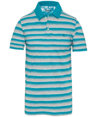 Men's Timberland Kennebec River Striped Jersey Polo Shirt