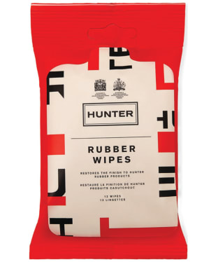 Hunter Rubber Boot Wipes - Exploded Logo
