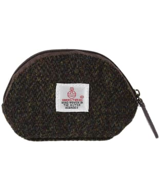 Women's Heather Amy Harris Tweed Coin Purse - Brown Barleycorn