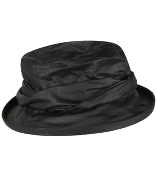 Women's Heather Ruby Ladies Wax Twist Hat - Black