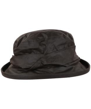 Women's Heather Ruby Ladies Wax Twist Hat - Brown