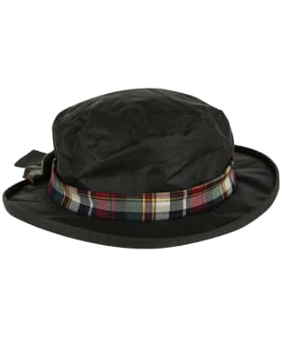 Women's Heather Alba Ladies Wax Bow Hat - Olive