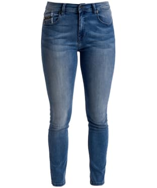 Women's Barbour International Scrambler Skinny Jeans - 70s Blue