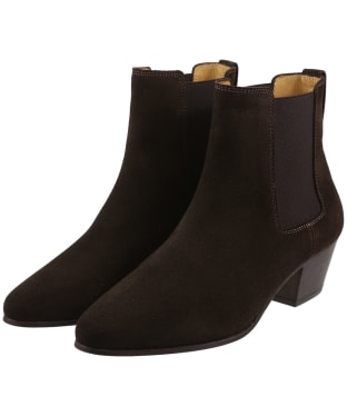 Women's Fairfax & Favor Athena Boots - Chocolate Suede