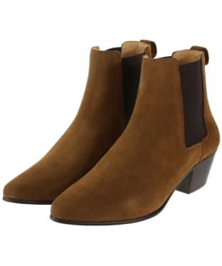 Women's Fairfax & Favor Athena Boots - Tan Suede