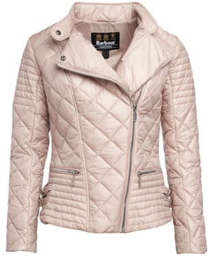 Women's Barbour International Wyvis Quilted Jacket - Pale Pink