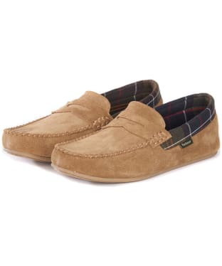 Men's Barbour Ashworth Slippers - Sand