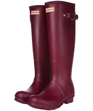 Women's Hunter Original Tall Wellington Boots - Violet