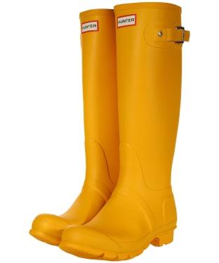 Women's Hunter Original Tall Wellington Boots - New Yellow