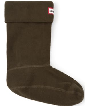 Hunter Short Boot Socks - Dark Olive