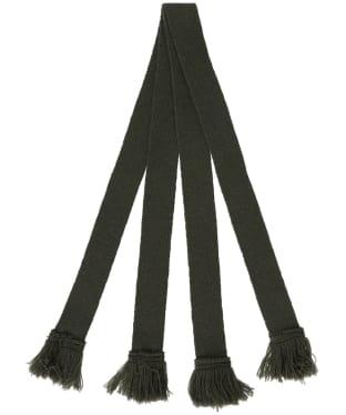 Pennine Wool Garter - Olive
