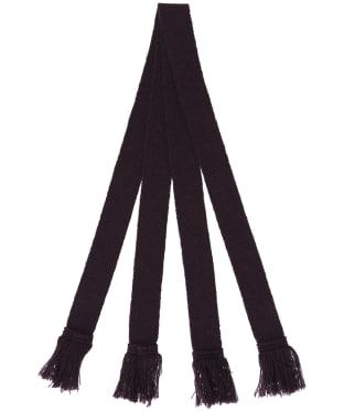 Pennine Wool Garter - Plum