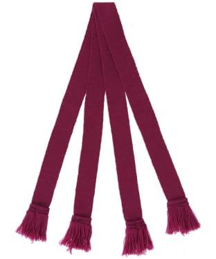 Pennine Wool Garter - Raspberry