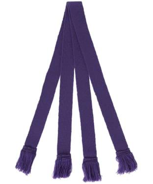 Pennine Wool Garter - Viola