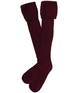 Pennine Chelsea Socks - Claret