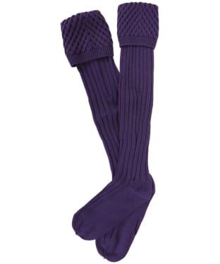 Pennine Chelsea Socks - Viola