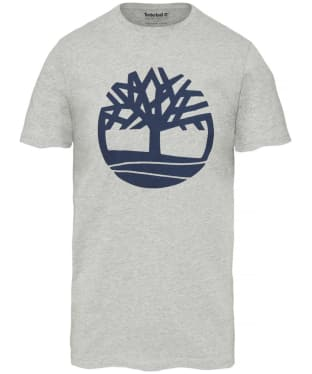 Men's Timberland Kennebec River Brand Tee - Grey Heather