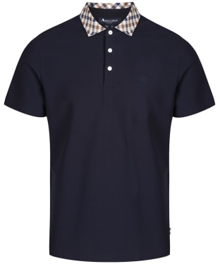 Men's Aquascutum Coniston Club Check Collar Polo Shirt