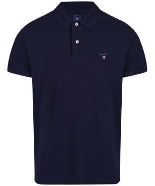 Men's GANT the Original Pique Rugger Polo Shirt - Evening Blue
