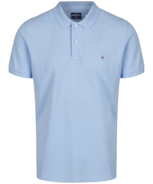 Men's GANT the Original Pique Rugger Polo Shirt - Capri Blue