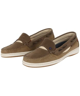 Women's Dubarry Capri Moccasins - Coffee / Cream