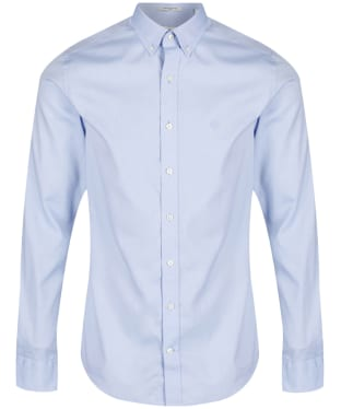 Men's GANT Slim Fit Pinpoint Oxford Shirt - Yale Blue