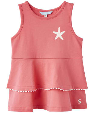 Girl's Joules Infant Fay Peplum Jersey Top, 2-5yrs